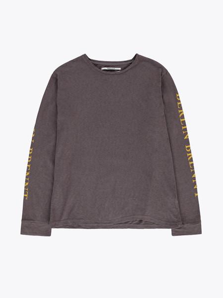 Robert Geller Sleeve Print LS T-Shirt