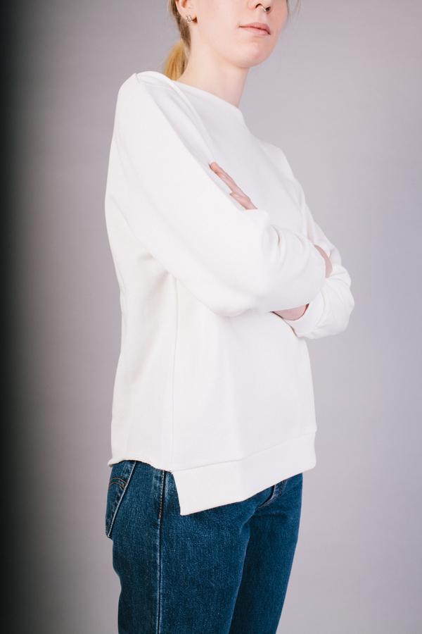 Peter Jensen Open Back Sweatshirt