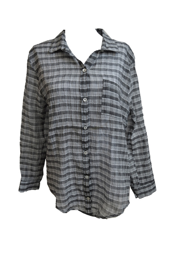 Objects Without Meaning Plaid Button Down