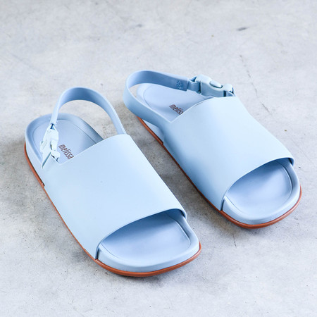 Melissa Slide Sandal in Light Blue