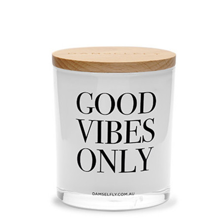 Damselfly 'Good Vibes Only' Candle