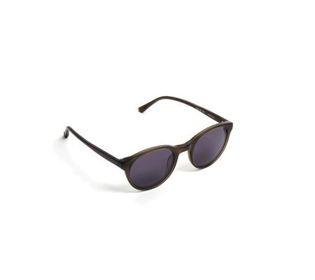 YMC Bubs Sunglasses | Matte Olive