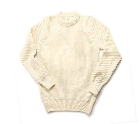 La Paz Teixeira Shetland Wool Knit Sweater | Ecru