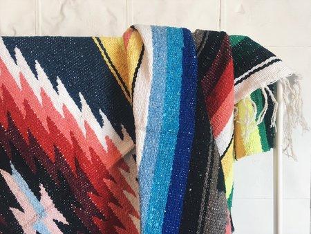Byron & Blue XL Diamond Mexican Blanket