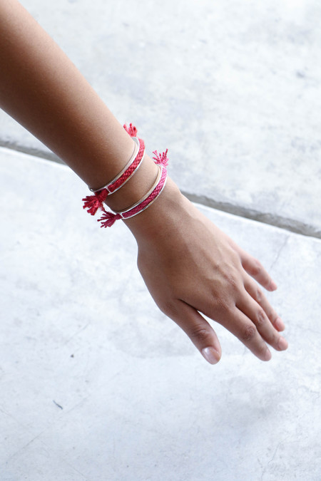 Erin Considine Tela Cuff Bracelet - Carmine