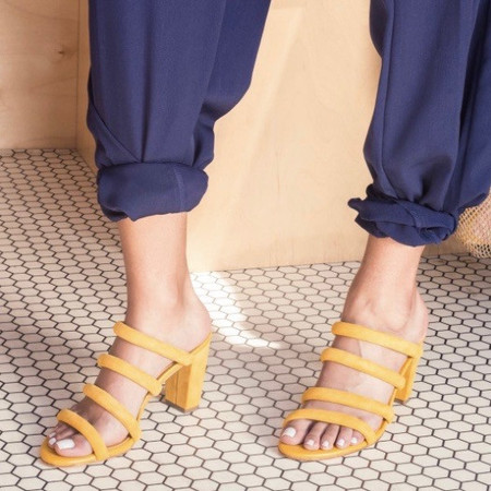 Charlotte Stone Bettina sandal - mimosa