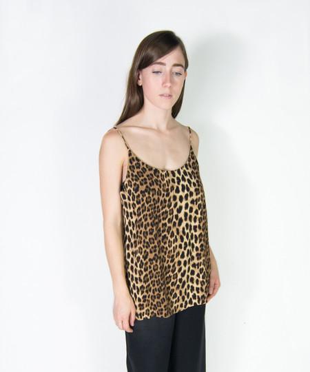 Just Female Leopard Trista Singlet Top