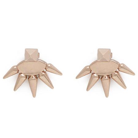 Anita K. Foxy Front Back Earrings