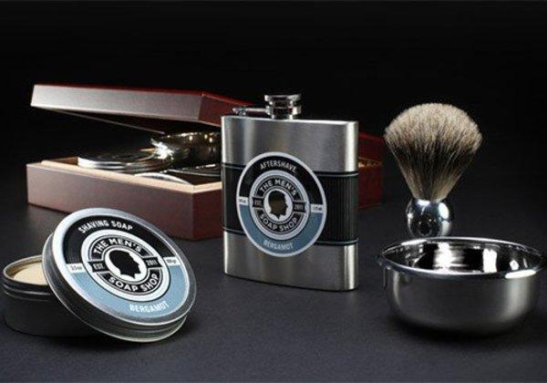 The Men's Soap Shop Quatro Grooming Bergamot Set