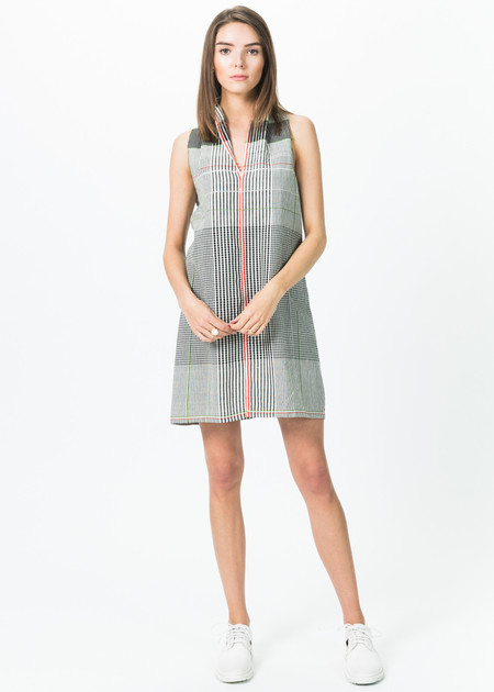 Guate Va Vest D2 V-Neck Dress
