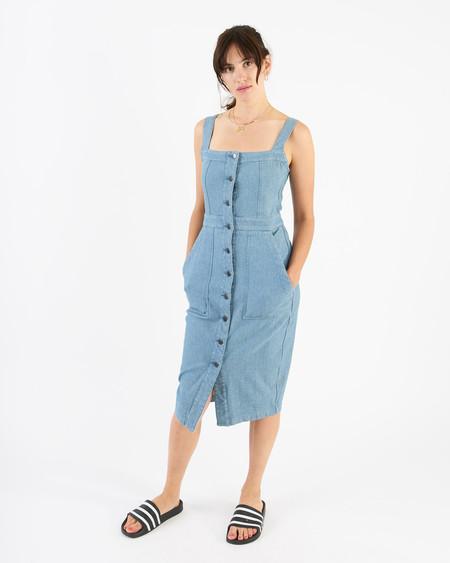 34N 118W No.901 denim pencil dress