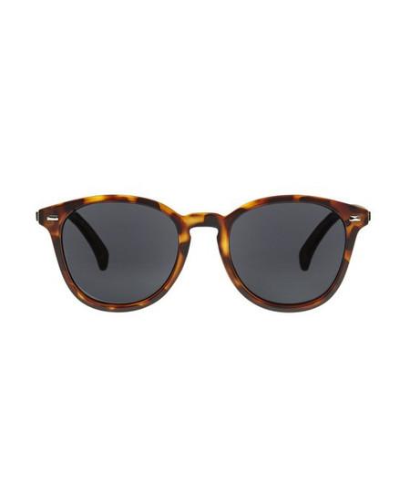 Le Specs Matte Tort Bandwagon Sunglasses