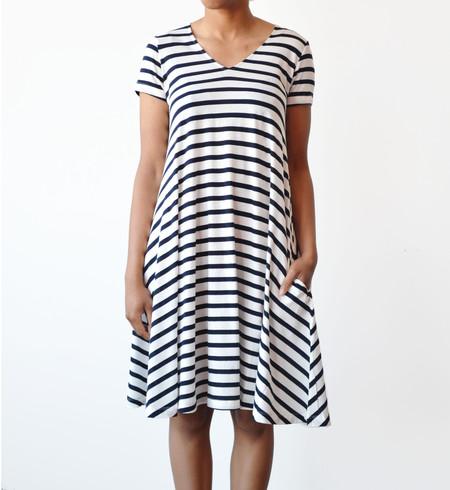 Demy Lee Patti Stripe Lori Swing Dress