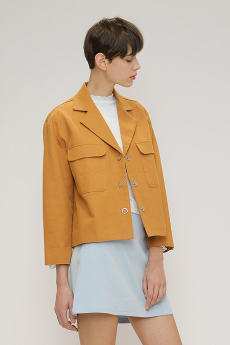 O.O Sicily Jacket - Brown