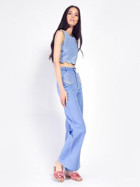 Samantha Pleet Shell Jeans