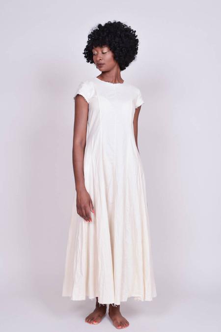 Hazel Brown Muslin Gown