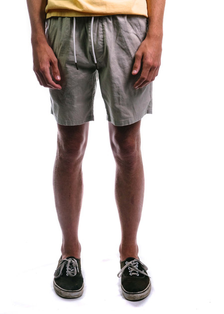 Barney Cools II Linen Walk Short Taupe
