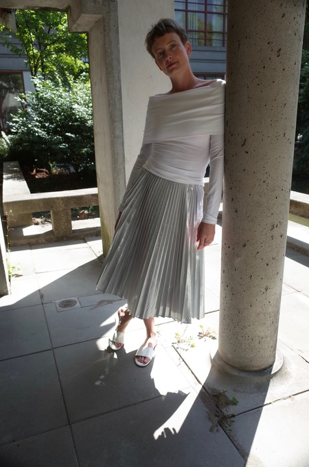 Sincerely Tommy Dori Skirt Silver