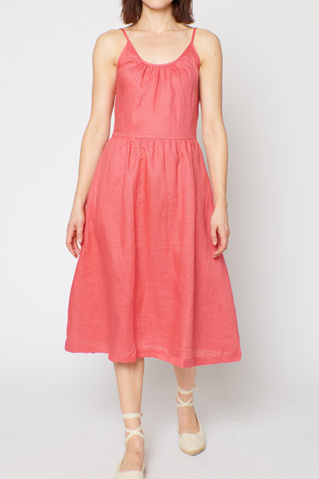 Built by Wendy Margaret Dress - Watermelon