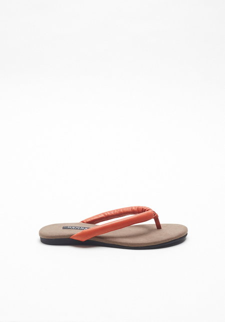 Newbark Orange Flora Sandal
