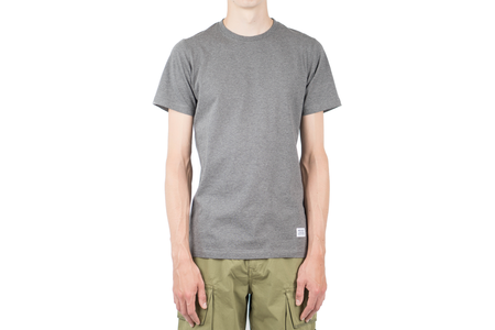 Norse Projects NIELS BASIC SS - CHARCOAL MELANGE