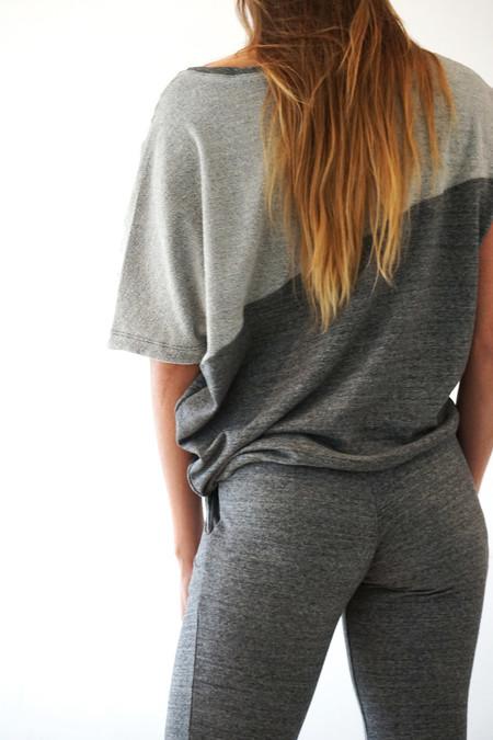 VPL Sweat top - Heather Grey