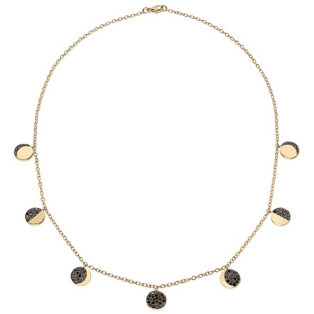 Pamela Love Moon Phase Necklace