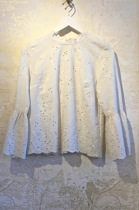 Ulla Johnson Cotton Linen 'Grace' Blouse