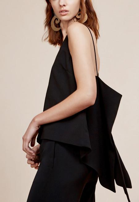 C/MEO Tie Back Camisole - Black