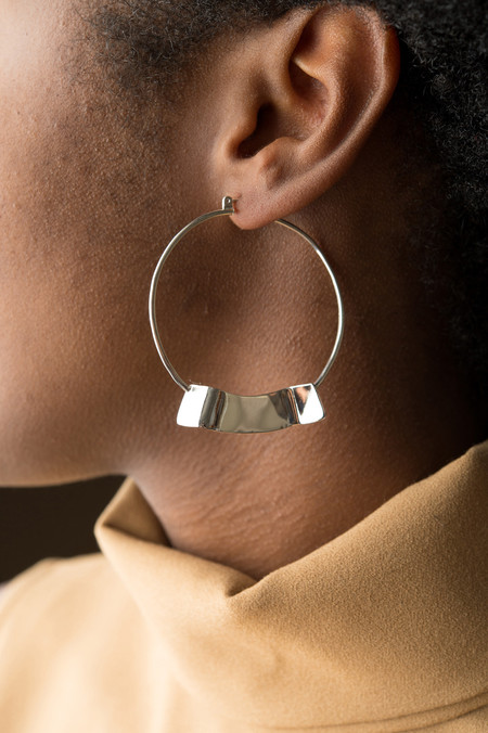 Erin Considine Ridge Hoop Earrings