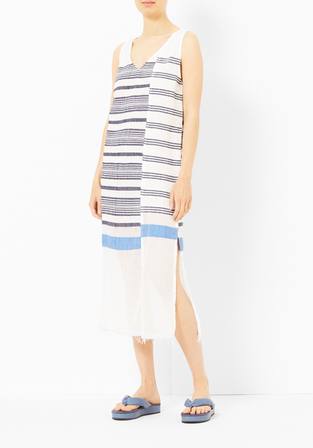 Lemlem Aziza Spliced Tank Dress