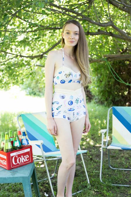 Samantha Pleet Mermaid Bikini Bottom