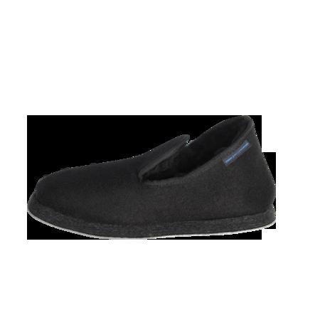 Unisex Armor Lux Handmade Wool Slippers - Black