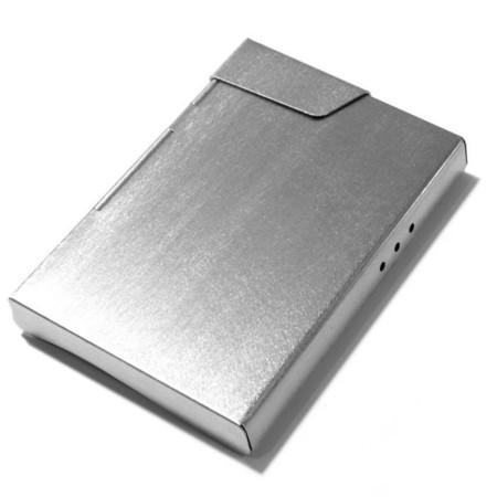 Claustrum Cigarette Case - Straight Vibration Finish