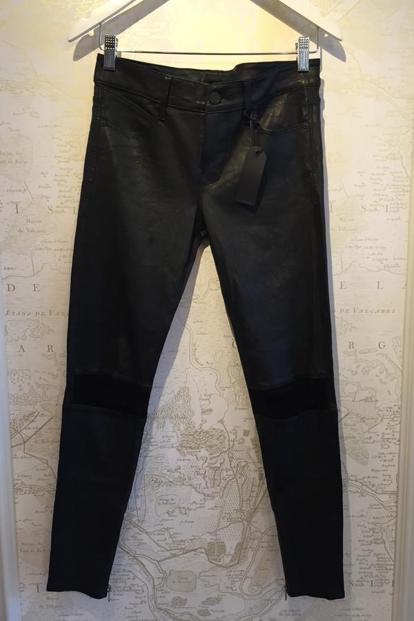 RTA 'Dylan' Distressed Leather Leggings