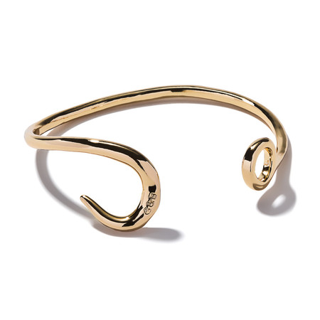 Giles & Brother Hook Cuff in Gold