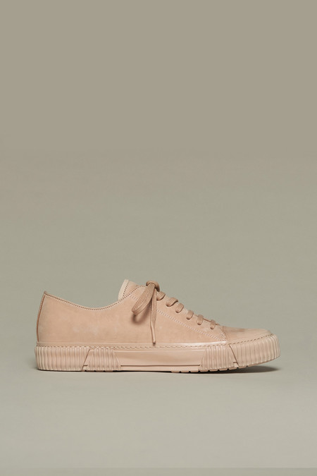 Both Paris Nude Horse Leather Sneakers