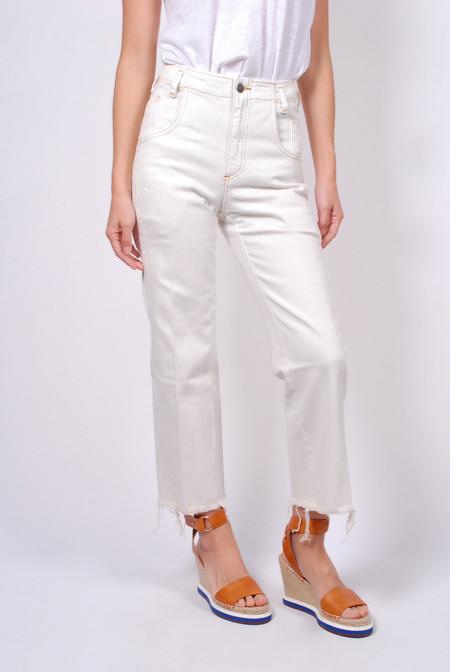 Rachel Comey Trigger Pant - Dirty White