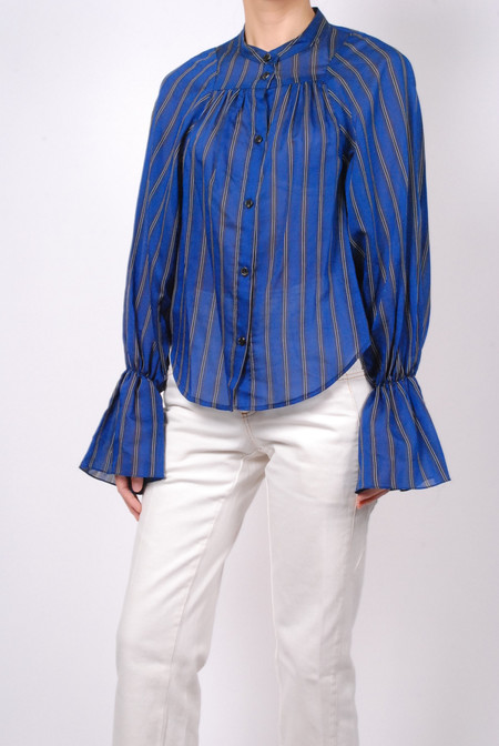 Rachel Comey Union Shirt Banker Stripe