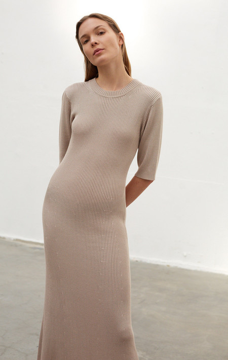 Rodebjer Manda Dress - Light Safari