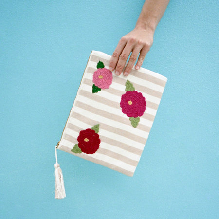 Proud Mary Flora Clutch