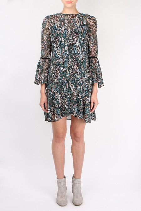 Veronica Beard Denver Crew Neck Dress