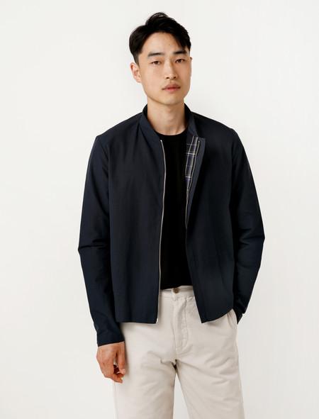 Stephan Schneider Jacket Elusion Navy Cotton/Linen