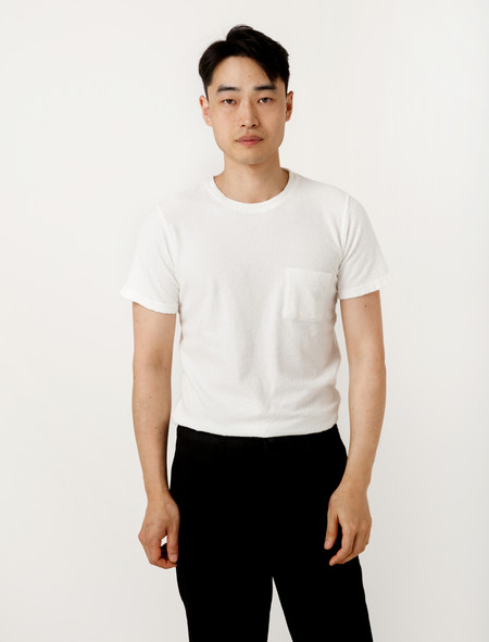Norse Projects Niels Japanese Pocket White