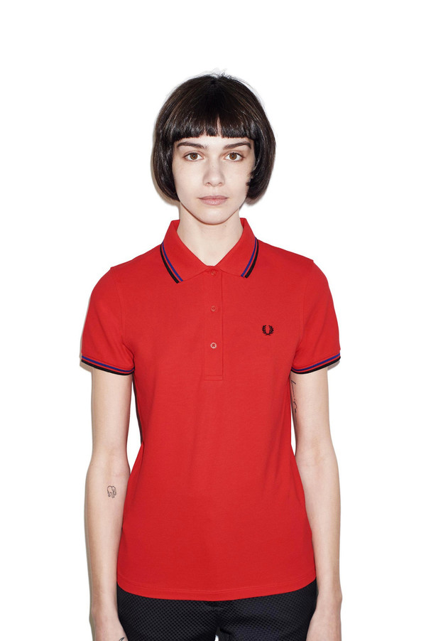 FRED PERRY The TWIN TIPPED FRED PERRY SHIRT