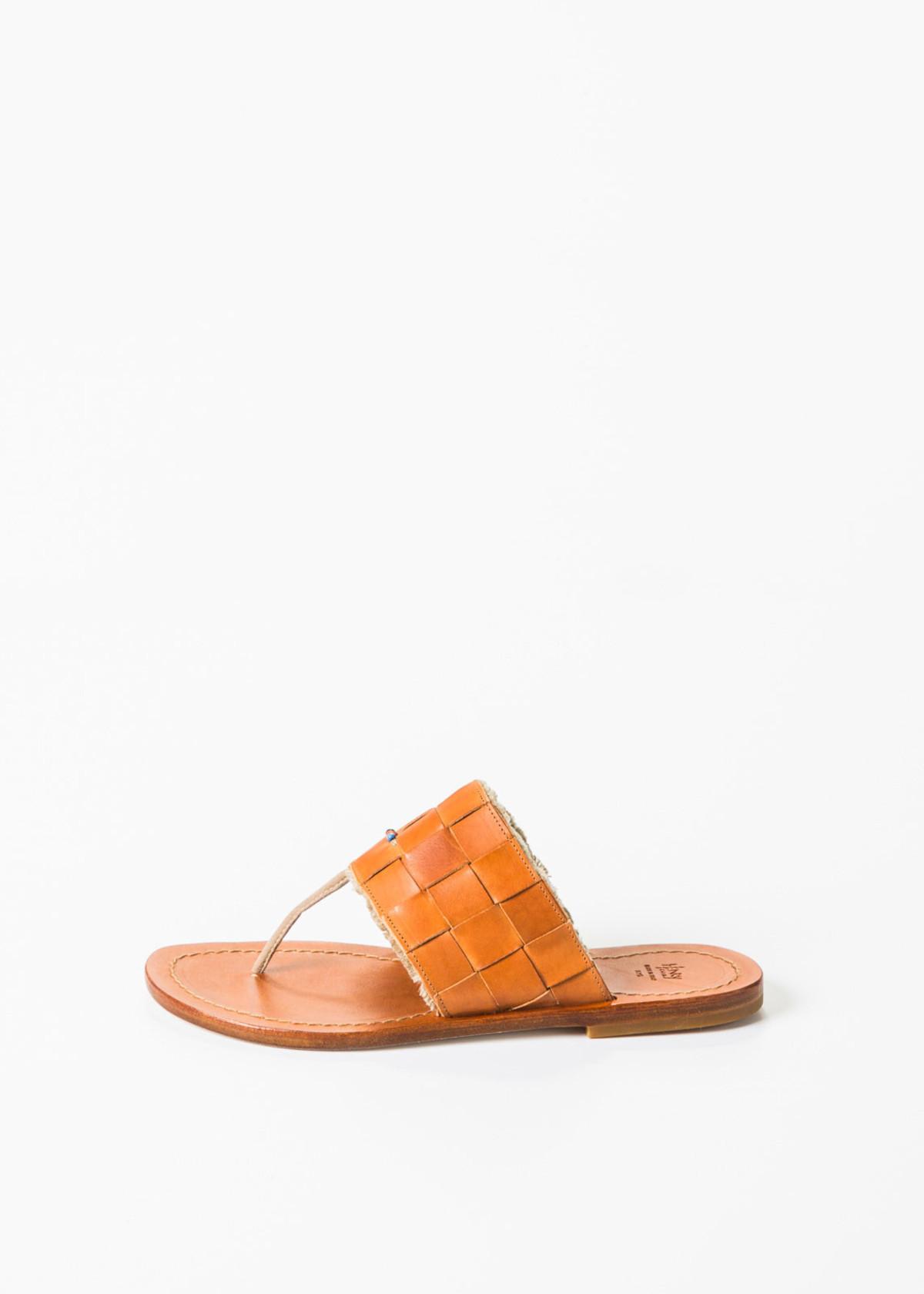 Henry Cuir Woven Slide Sandals official footlocker finishline buy cheap for sale cheap price outlet XNP3jo