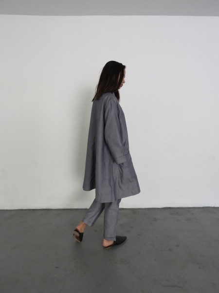 KOWTOW SHORE RELAXED PANT - CHAMBRAY