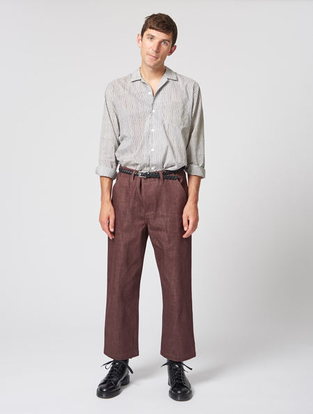 OTHER Felix Denim Trouser Rust