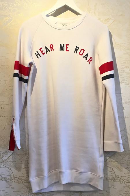 Zoe Karssen 'Hear Me Roar' Sweatshirt Dress