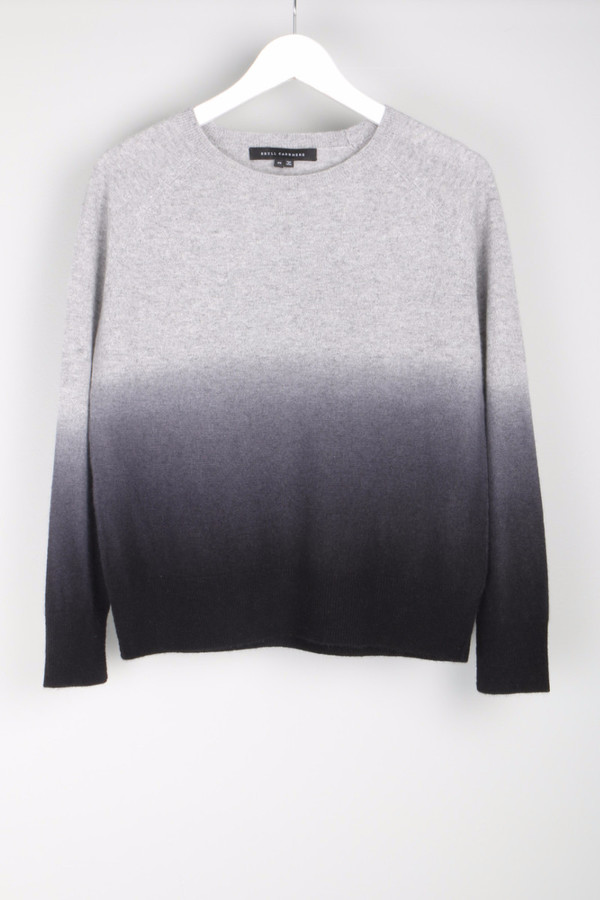 Skull Cashmere Dip Ombre Sweater